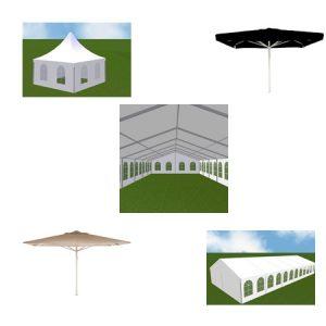Zelte/Schirme